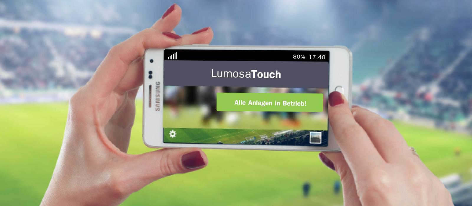 LumosaTouch: Intuitive Lichtsteuerung per App